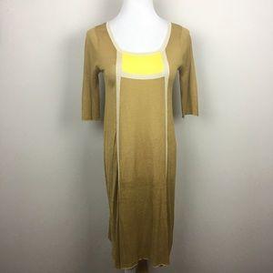 Orla Kiely silk colorblock Shift Dress